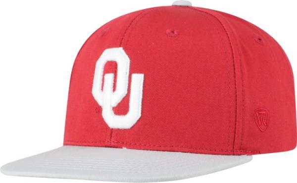 Top of the World Youth Oklahoma Sooners Crimson Maverick Adjustable Hat product image