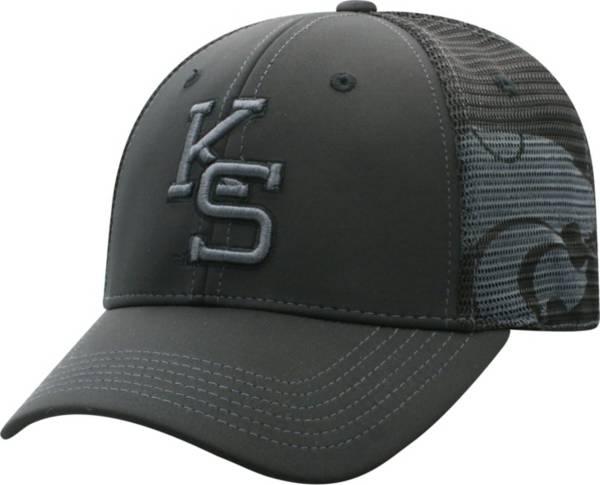 Top of the World Men's Kansas State Wildcats Dayblaster Nightfall 1Fit Flex Black Hat product image
