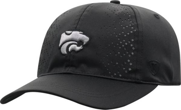 Top of the World Women's Kansas State Wildcats Focal 1Fit Flex Black Hat product image