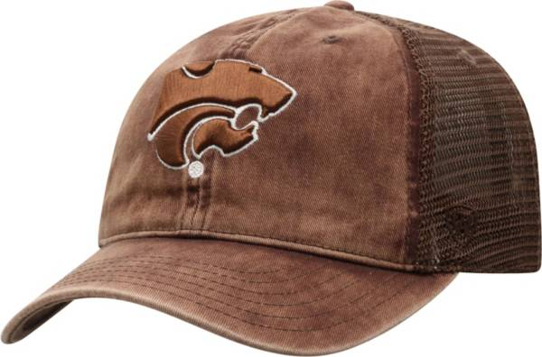 Top of the World Men's Kansas State Wildcats Brown Chips Two-Tone Adjustable Hat product image
