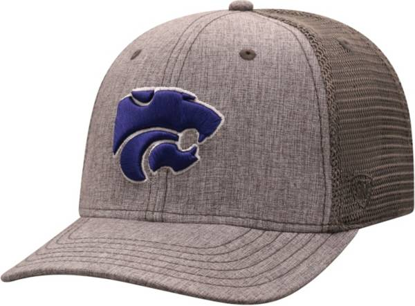 Top of the World Men's Kansas State Wildcats Grey ATM Adjustable Hat product image