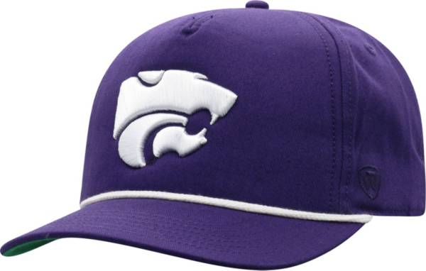 Top of the World Men's Kansas State Wildcats Purple Dally Adjustable Hat product image