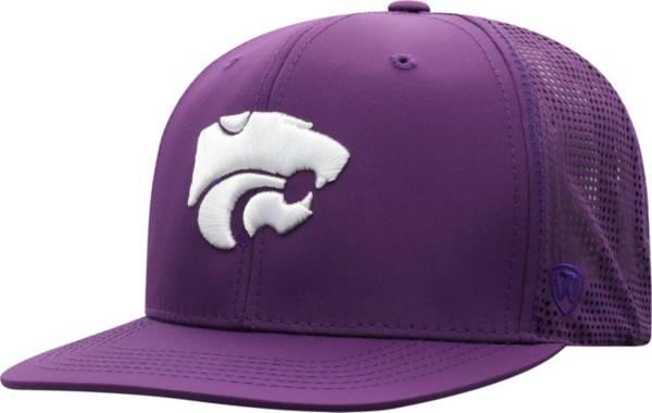 Top of the World Men's Kansas State Wildcats Purple Flight Adjustable Hat product image