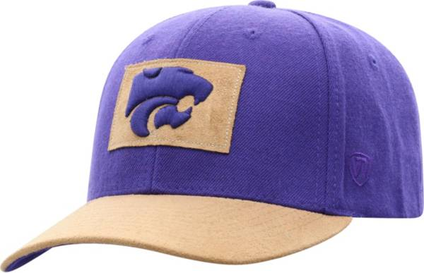 Top of the World Men's Kansas State Wildcats Purple Hide Adjustable Hat product image