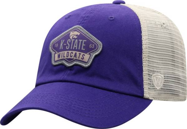 Top of the World Men's Kansas State Wildcats Purple/Khaki Nitty Adjustable Hat product image