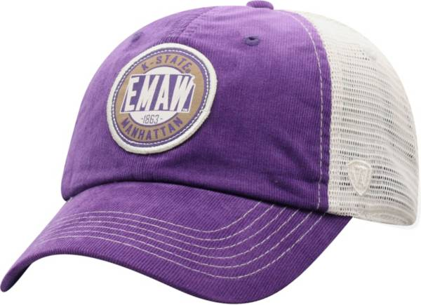 Top of the World Men's Kansas State Wildcats Purple Control Two-Tone Adjustable Hat product image