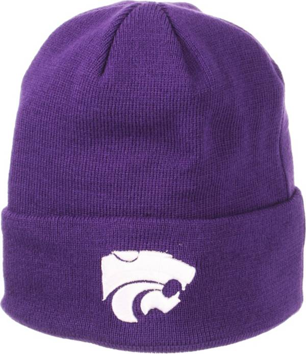 Zephyr Men's Kansas State Wildcats Purple Cuffed Knit Beanie product image