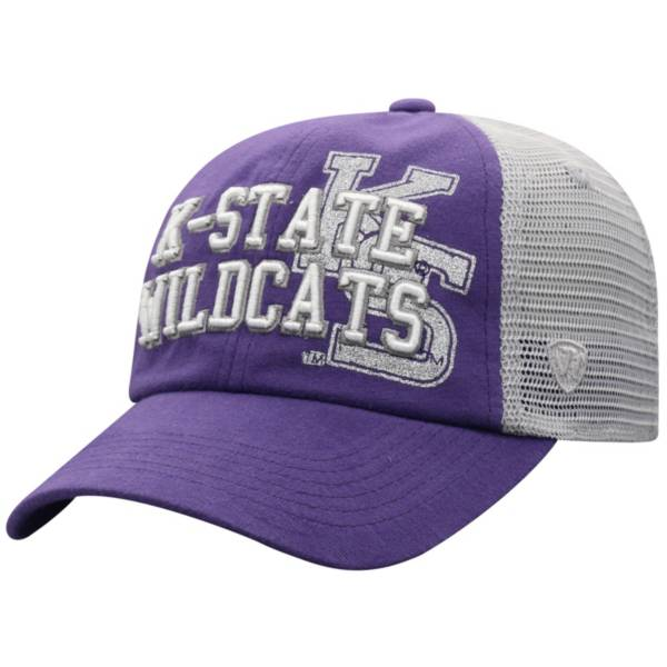 Top of the World Women's Kansas State Wildcats Purple Glitter Cheer Adjustable Hat product image