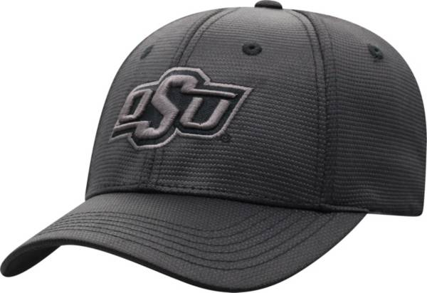 Top of the World Men's Oklahoma State Cowboys Progo 1Fit Flex Black Hat product image