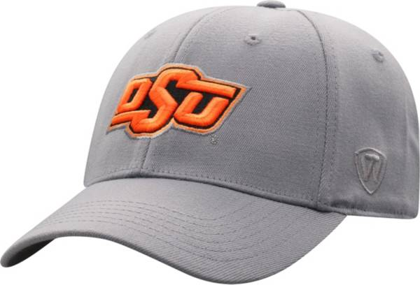 Top of the World Men's Oklahoma State Cowboys Grey Premium 1Fit Flex Hat product image