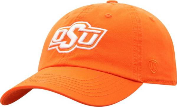 Top of the World Men's Oklahoma State Cowboys Orange Crew Washed Cotton Adjustable Hat product image