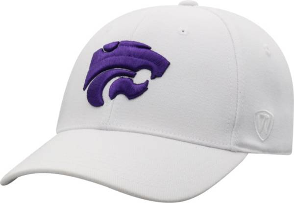 Top of the World Men's Kansas State Wildcats Premium 1Fit Flex White Hat product image