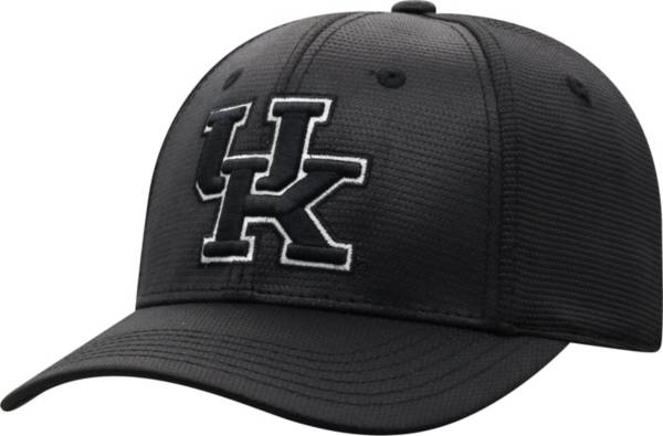 Top of the World Men's Kentucky Wildcats Progo 1Fit Flex Black Hat product image