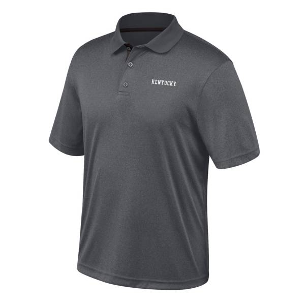 Top of the World Men's Kentucky Wildcats Turbine Grey Polo product image
