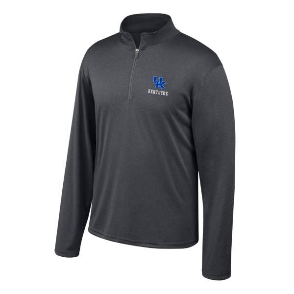 Top of the World Men's Kentucky Wildcats Turbine Grey Quarter-Zip Shirt product image