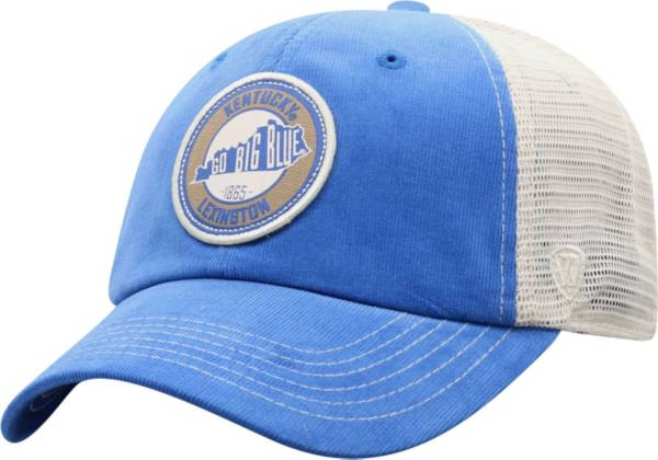 Top of the World Men's Kentucky Wildcats Blue Control Two-Tone Adjustable Hat product image