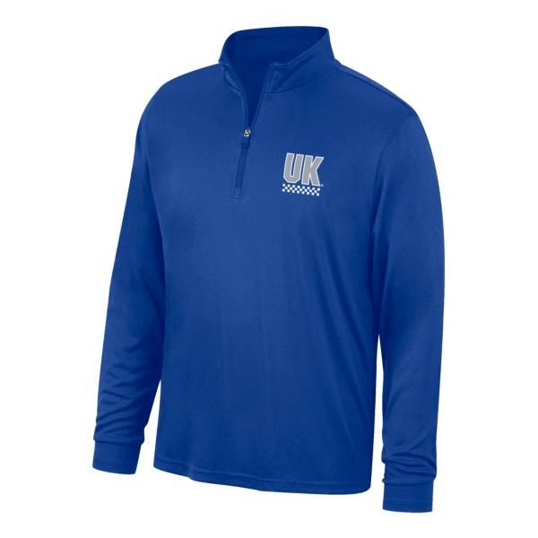 Top of the World Men's Kentucky Wildcats Turbine Blue Quarter-Zip Shirt product image