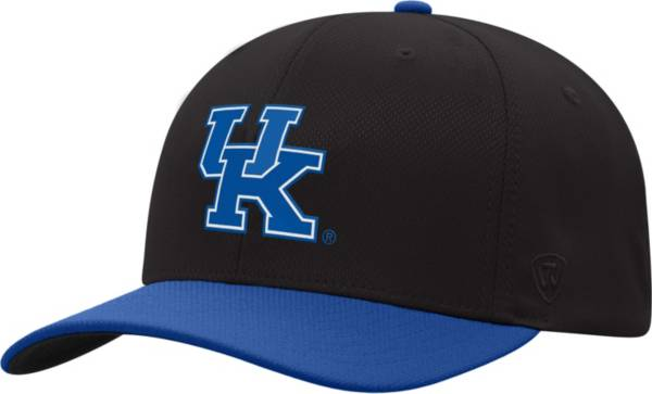Top of the World Men's Kentucky Wildcats Blue Reflex Two-Tone Fitted Hat product image