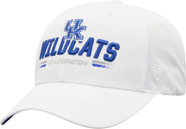 Top of the World Men's Kentucky Wildcats Centralize Aura Adjustable White Hat product image