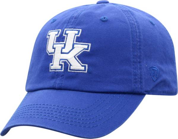 Top of the World Men's Kentucky Wildcats Blue Crew 23 Washed Cotton Adjustable Hat product image