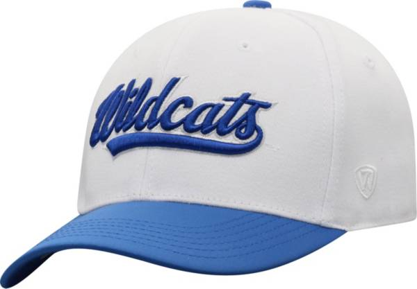 Top of the World Men's Kentucky Wildcats Infield 1Fit Flex White Hat product image