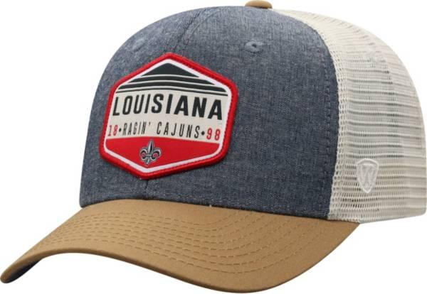 Top of the World Men's Louisiana-Lafayette Ragin' Cajuns Grey Wild Adjustable Hat product image