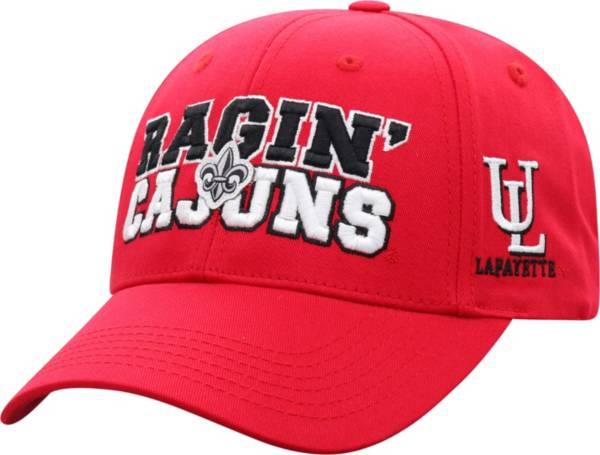 Top of the World Men's Louisiana-Lafayette Ragin' Cajuns Red Teamwork Adjustable Hat product image