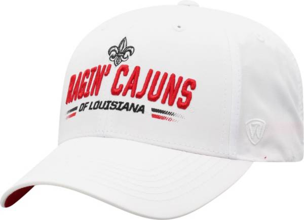 Top of the World Men's Louisiana-Lafayette Ragin' Cajuns Centralize Aura Adjustable White Hat product image