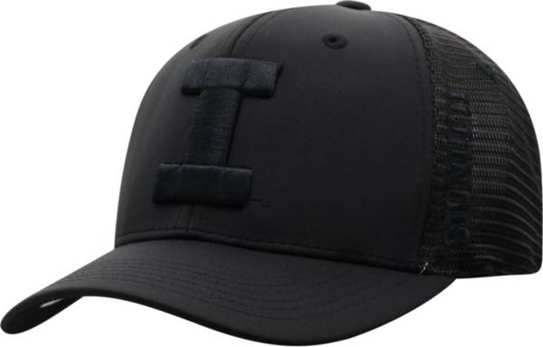 Top of the World Men's Illinois Fighting Illini Chatter 1Fit Fitted Black Hat product image