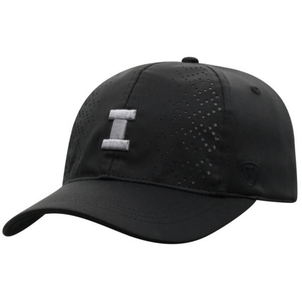 Top of the World Women's Illinois Fighting Illini Focal 1Fit Flex Black Hat product image