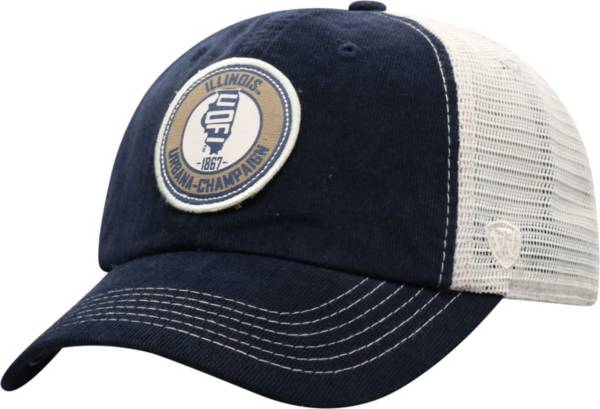 Top of the World Men's Illinois Fighting Illini Blue Control Two-Tone Adjustable Hat product image
