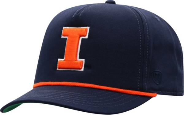 Top of the World Men's Illinois Fighting Illini Blue Dally Adjustable Hat product image