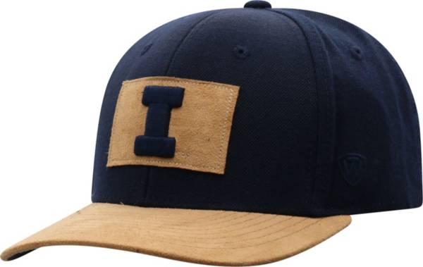 Top of the World Men's Illinois Fighting Illini Blue Hide Adjustable Hat product image