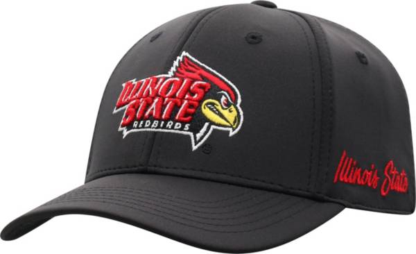 Top of the World Men's Illinois State Redbirds Phenom 1Fit Flex Black Hat product image