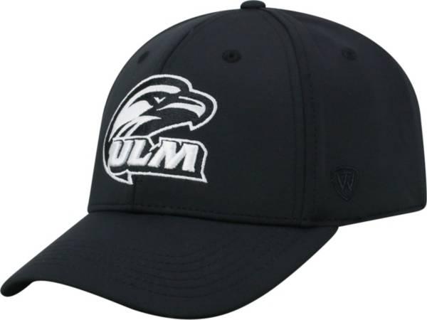 Top of the World Men's Louisiana-Monroe Warhawks Tension 1Fit Flex Black Hat product image