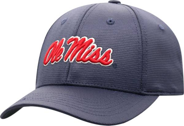Top of the World Men's Ole Miss Rebels Blue Progo 1Fit Flex Hat product image