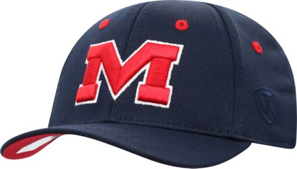 Top of the World Infant Ole Miss Rebels Blue The Cub Fitted Hat product image