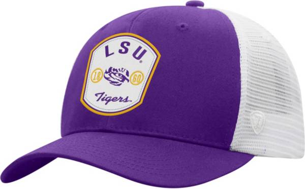 Top of the World Men's LSU Tigers Purple/White Sea Life Adjustable Hat product image