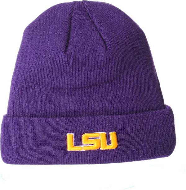 Zephyr Men's LSU Tigers Purple Cuffed Knit Beanie product image