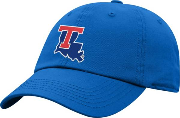 Top of the World Men's Louisiana Tech Bulldogs Red Crew Washed Cotton Adjustable Hat product image