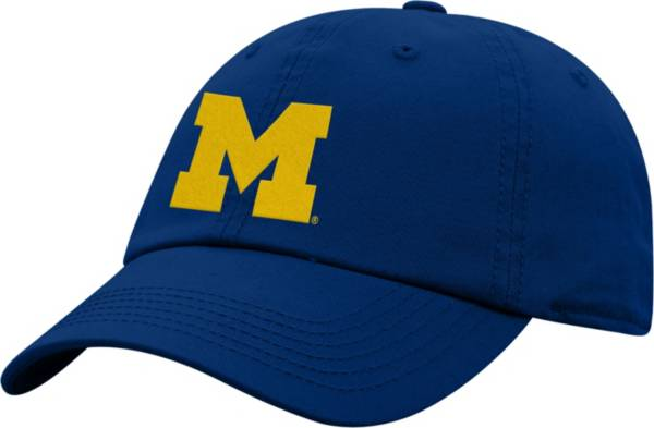 Top of the World Men's Michigan Wolverines Blue Crew Washed Cotton Adjustable Hat product image