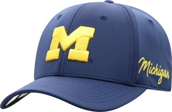 Top of the World Men's Michigan Wolverines Blue Phenom 1Fit Flex Hat product image