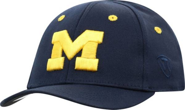 Top of the World Infant Michigan Wolverines Blue The Cub Fitted Hat product image