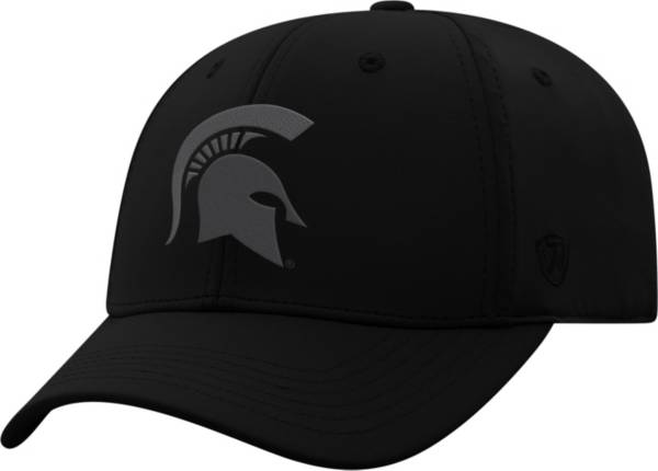Top of the World Men's Michigan State Spartans Phenom 1 1Fit Flex Black Hat product image