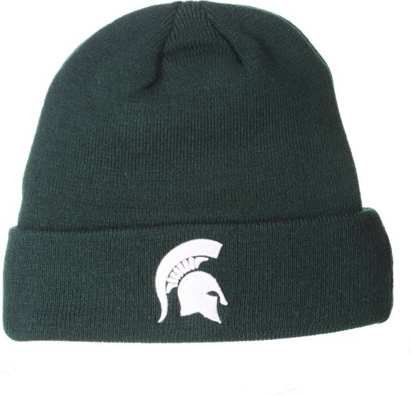 Zephyr Men's Michigan State Spartans Green Cuffed Knit Beanie product image