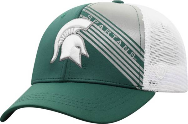 Top of the World Men's Michigan State Spartans Green Timeline Adjustable Hat product image