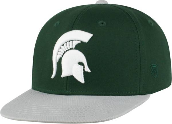 Top of the World Youth Michigan State Spartans Green Maverick Adjustable Hat product image