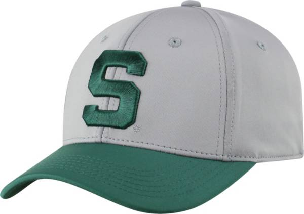 Top of the World Men's Michigan State Spartans Grey Phenom 1 1Fit Flex Hat product image