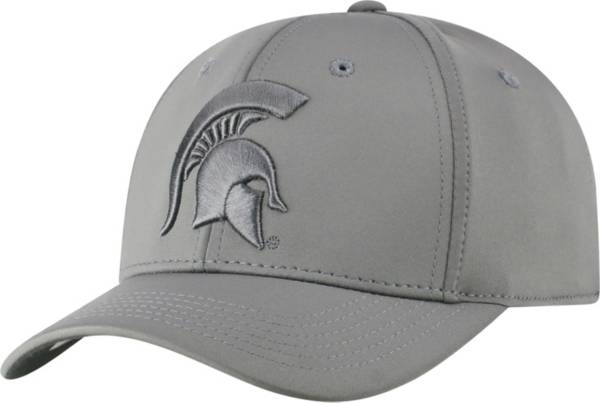 Top of the World Men's Michigan State Spartans Charcoal Phenom 1 1Fit Flex Hat product image