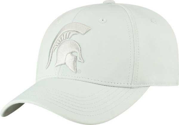 Top of the World Men's Michigan State Spartans Light Grey Phenom 1 1Fit Flex Hat product image